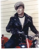 Marlon Brando Wild One glossy color photo 8 by 10
