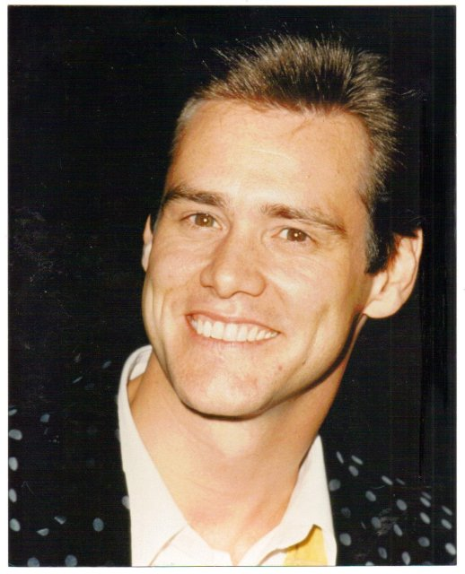 Jim Carey glossy color photo 8 by 10