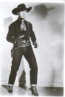 Johnny Mack Brown black and white glossy 8 by 10 photograph