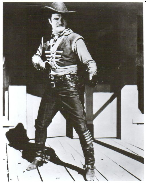 Tom Mix black and white glossy 8 by 10 photograph
