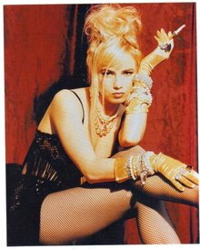 Traci Lords color 8 by 10 glossy photograph
