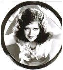 Clara Bow black and white glossy photograph 8 by 10