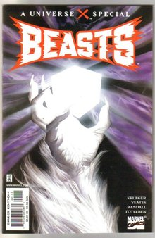 Beasts A Universe X special mint 9.8