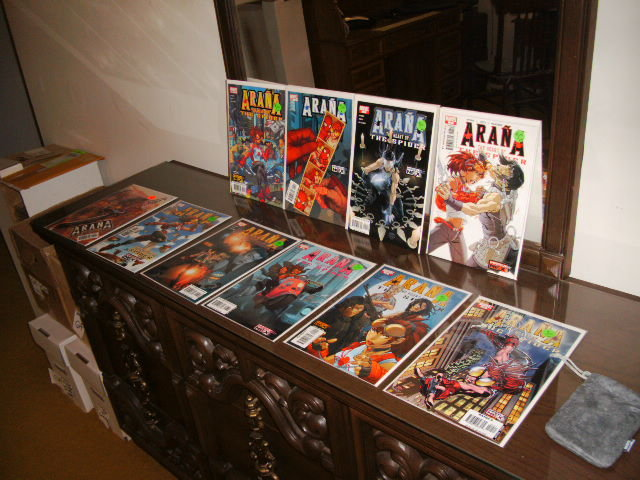 Arana The Heart of the Spider comic collection first 10 issues near mint to mint