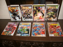 Miscellaneous Avengers collection of 8 comic books mostly mint