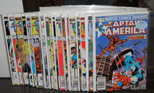 Captain America collection of 20 comic books mostly mint