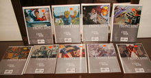 Front Line Civil War comic book assortment of 9