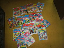 Silver and Bronze age Archie comic book collection of 19
