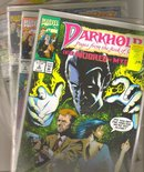 A miscellaneous collection of 6 different Darkhold comic books all near mint 9.4