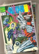 A miscellaneous collection of 6 different Darkhawk comic books all mint 9.8