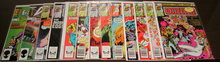 Dazzler comic book assortment of 13 different