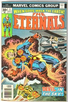 The Eternals #3 comic book very fine/near mint 9.0