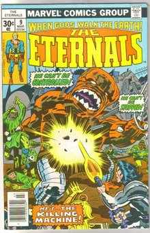 The Eternals #9 comic book near mint 9.4
