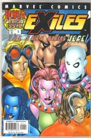Exiles #1 comic book  mint 9.8