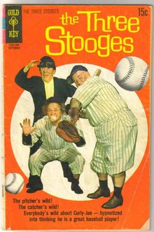 The Three Stooges #48 comic book good/very good 3.0