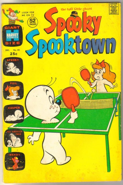 Spooky Spooktown #42 comic book fine 6.0