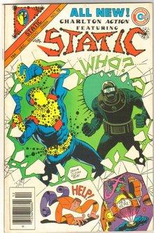 Static #12  comic book near mint 9.4
