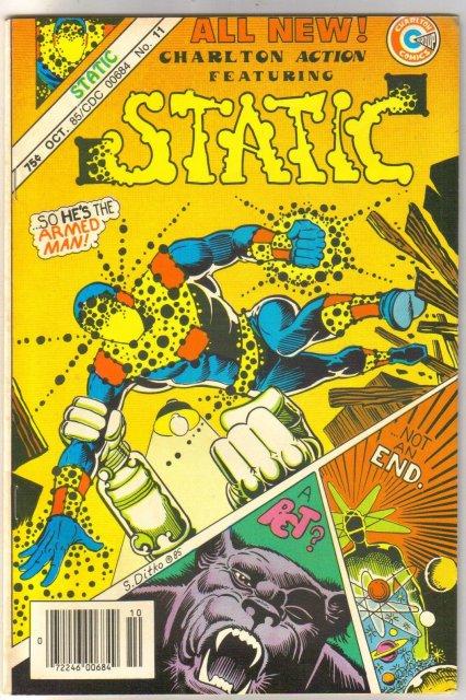 Static #11  comic book near mint 9.4