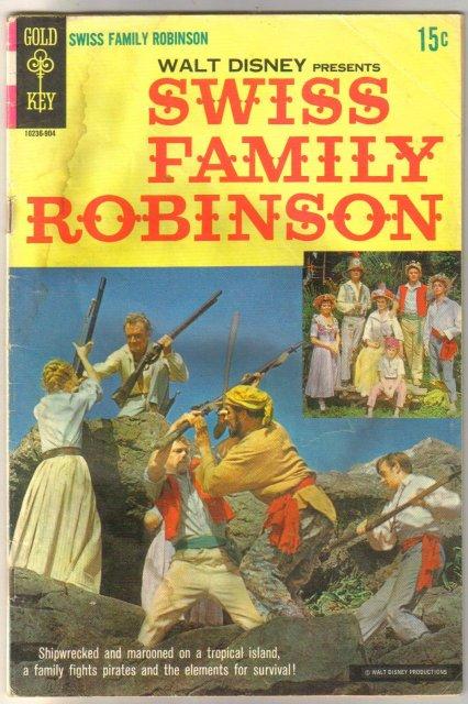 Swiss Family Robinson comic book fair 1.5