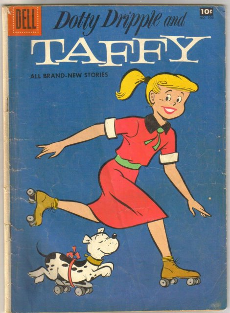 Dolly Dripple and Taffy #903 comic book very good 4.0