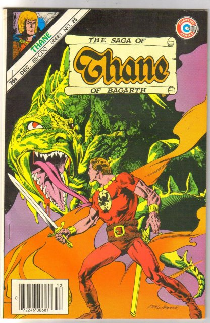 The Saga of Thane of Bogarth #25 comic book near mint 9.4