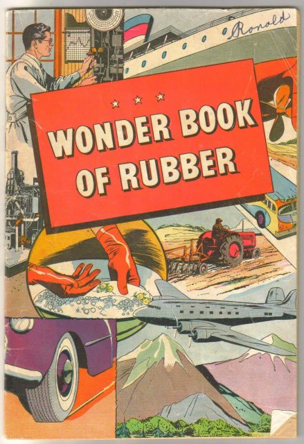 B.F. Goodrich Wonder Book of Rubber comic book