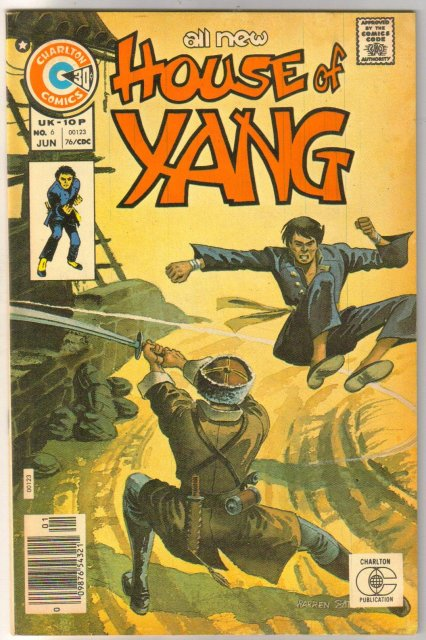 House of Yang #6 comic book