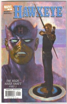 Hawkeye #1 comic book mint 9.8