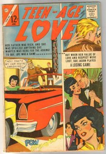 Teen-Age Love #32 romance comic book very good/fine 5.0