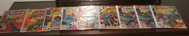 11 issue Black Lightning comic book assortment