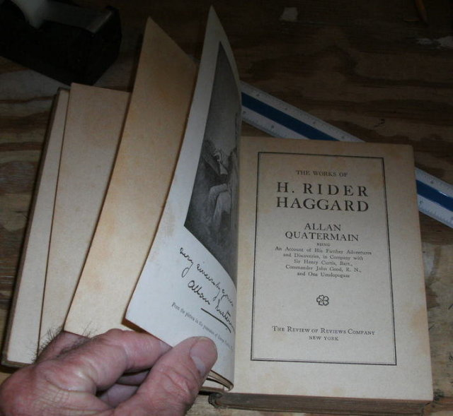 The Works of H. Rider Haggard Allan Quatermain