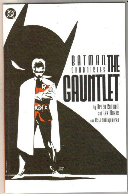 Batman Chronicles The Gauntlet trade paperback near mint 9.4