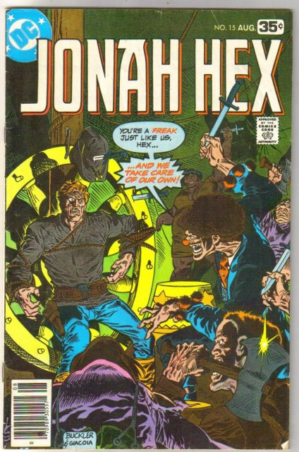 Jonah Hex #15 comic book very good 4.0