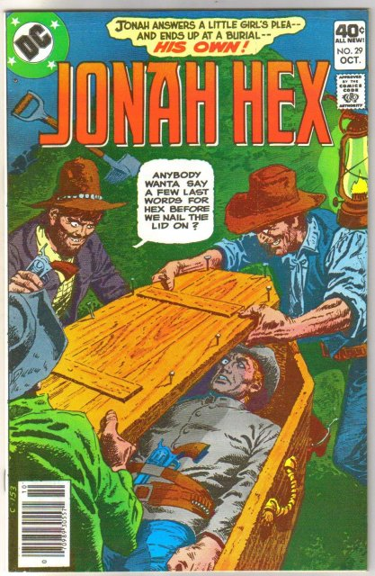 Jonah Hex #29 comic book very fine/near mint 9.0