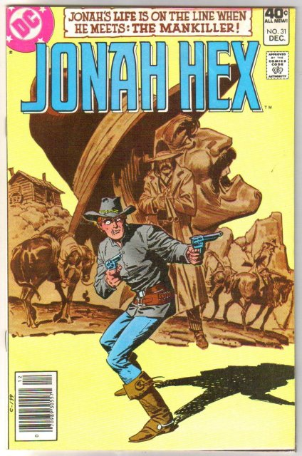 Jonah Hex #31 comic book fine/very fine 7.0