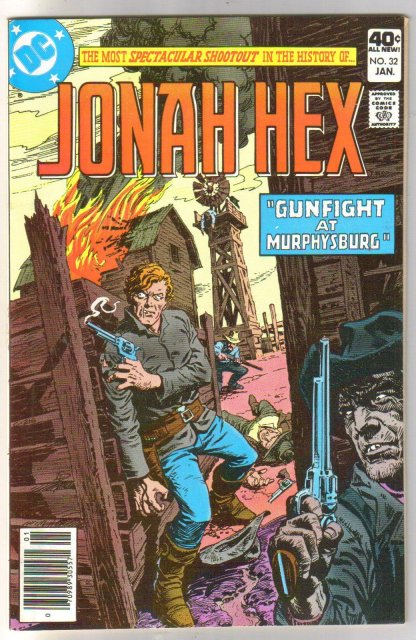 Jonah Hex #32 comic book near mint 9.4