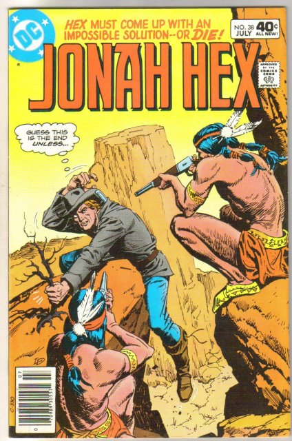 Jonah Hex #38 comic book very fine/near mint 9.0