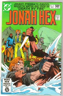 Jonah Hex #43 comic book very fine/near mint 9.0