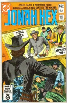 Jonah Hex #44 comic book near mint 9.4