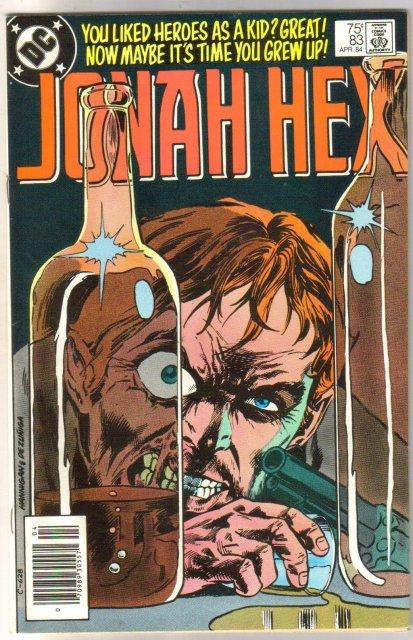 Jonah Hex #83 comic book near mint 9.4