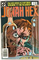 Jonah Hex #83 comic book near mint 9.4