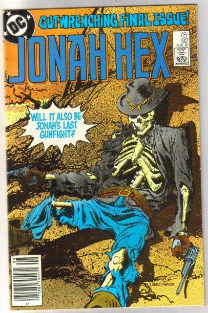 Jonah Hex #92 comic book near mint 9.4