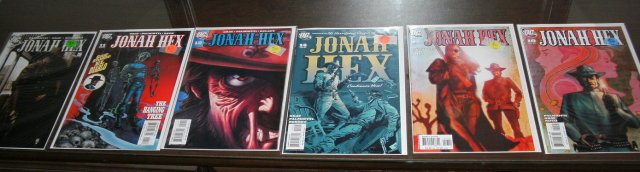 Jonah Hex  2006 series collection of 6 comic books nm to mint