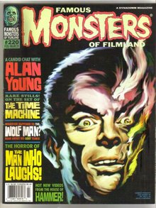 Famous Monsters of Filmland magazine #220 near mint 9.4