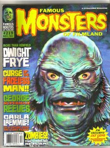 Famous Monsters of Filmland magazine #219 near mint 9.4