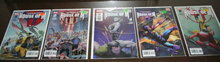 House of M comic book collection of 5