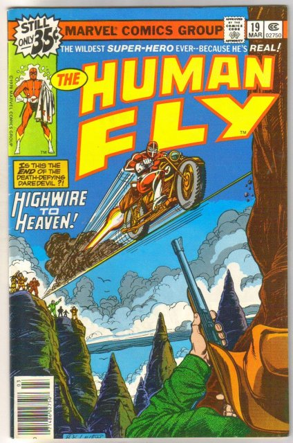 The Human Fly #19 comic book very fine/near mint 9.0