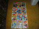 Twelve Human Fly comic books very high grade