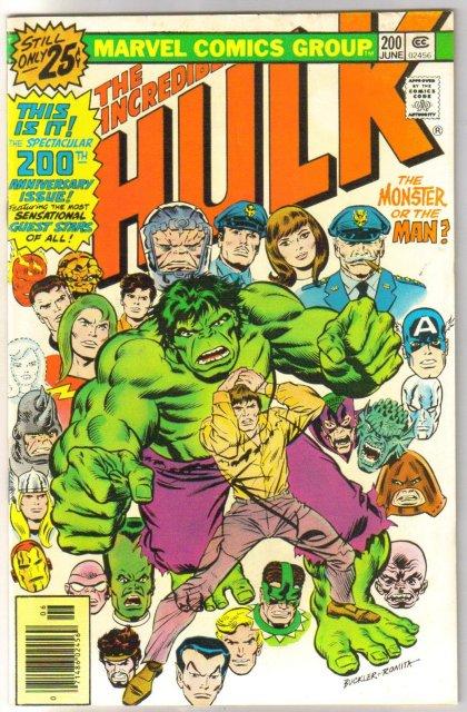 Incredible Hulk #200 comic book very fine 8.0
