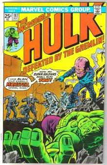 Incredible Hulk #187 comic book very fine 8.0